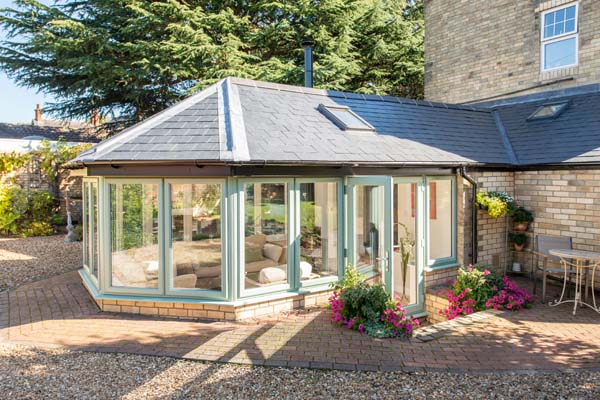 Tiled Roof Conservatory Installations in Northampton