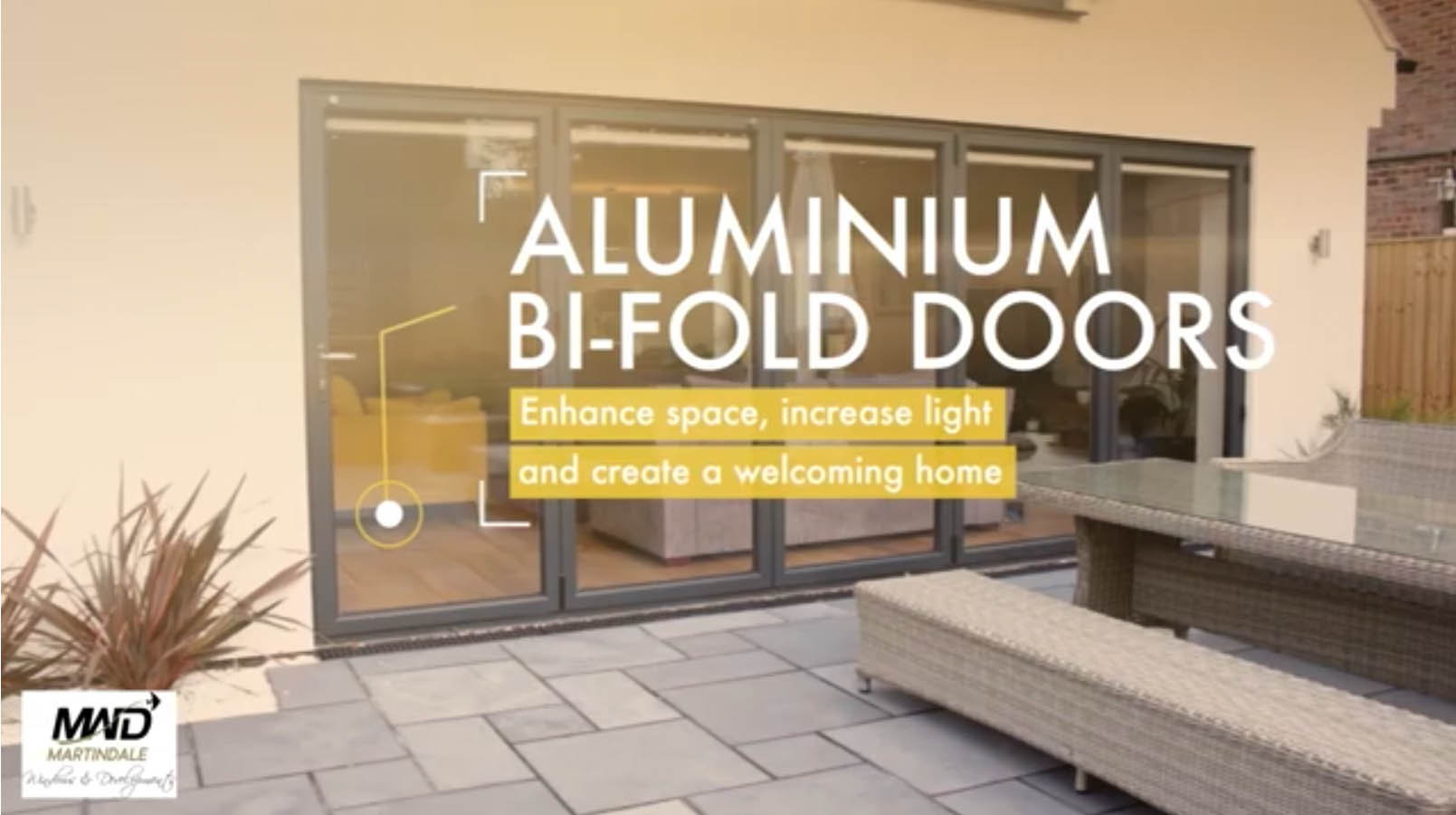 Bi-Fold Doors Video by Martindale