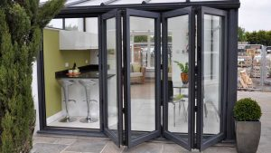 Black Bifold Doors Northampton