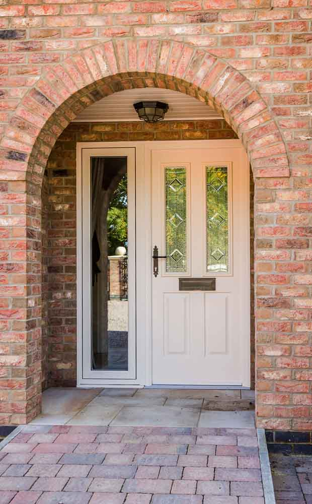 White Composite Front Doors Kettering