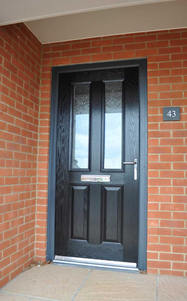 Black Composite Doors Northamptonshire