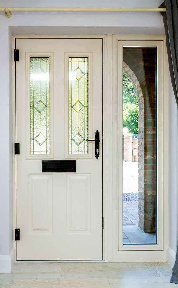 White Composite Front Doors Northants