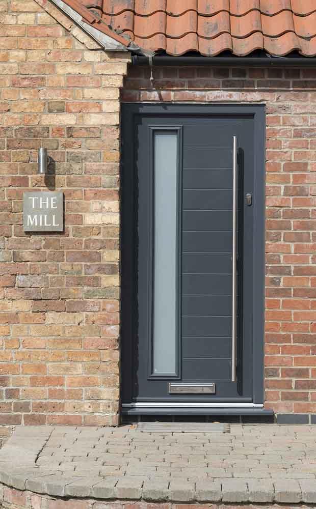 Black Composite Front Doors Northampton