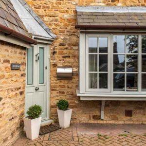 Grey uPVC Windows and Doors Northamptonshire