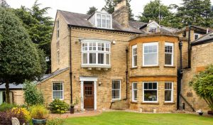 Country House gains extra Style & Security from new Vertical Sliding Sash Windows