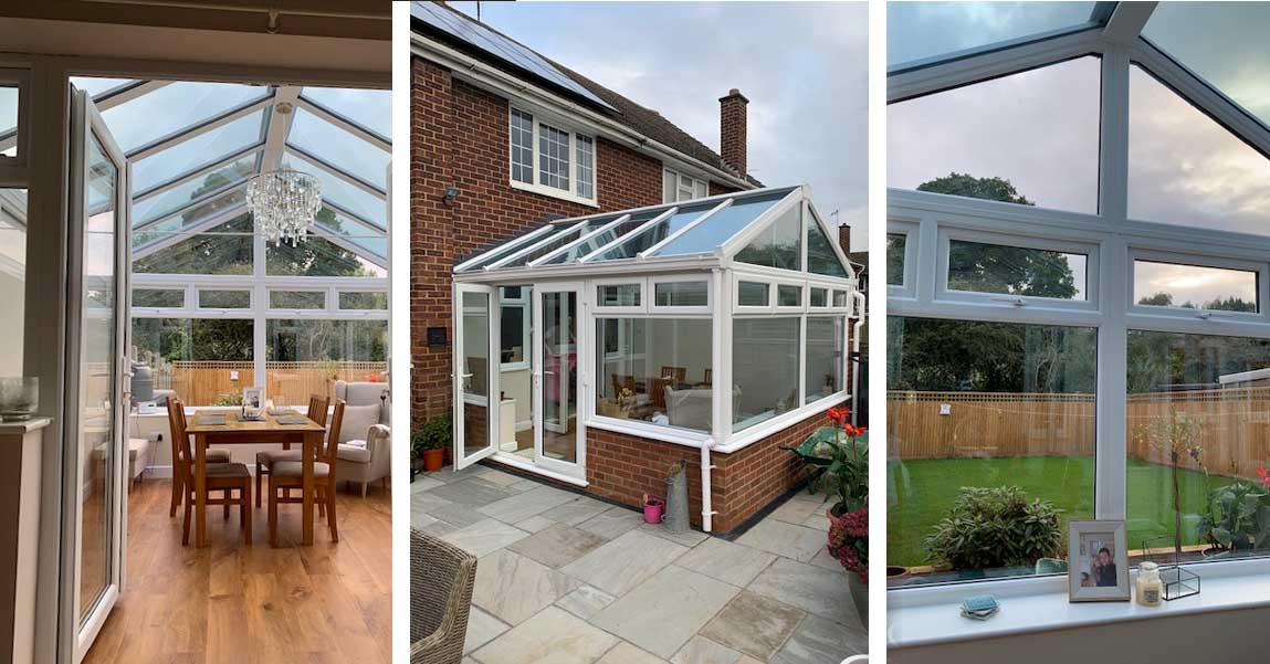 Martindale creates unique Gable-End Conservatory for local client